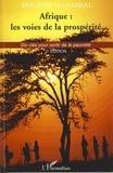 Eugène Nyambal - Afrique : les voies de la prospérité - Dix clés pour sortir de la pauvreté.