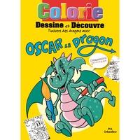 Eugène Santangelo - Carnet de coloriage Oscar le Dragon.