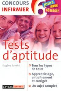 Eugène Sonsini - Tests d'aptitude - Concours infirmier.