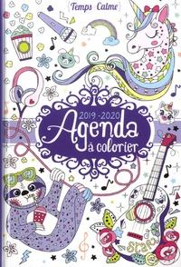 Eugénie Varone - Agenda à colorier.