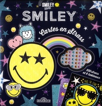 Eugénie Varone - Cartes en strass Smiley - 550 strass et 6 tableaux.