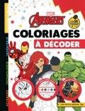 Eugénie Varone - Coloriages à décoder Marvel Avengers.