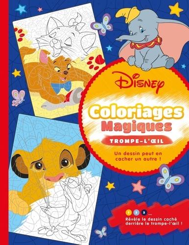 Disney classiques. Coloriages magiques - Trompe-l'oeil