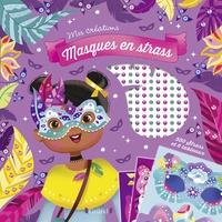 Eugénie Varone - Masques en strass - Avec 550 strass et 1m d'élastique.