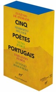Eugénio de Andrade et Herberto Helder - Cinq poètes portugais - Coffret 5 volumes : Matière solaire ; Le poème continu ; Un chant dans l'épaisseur du temps ; Le Gardeur de troupeaux ; Le cycle du cheval.