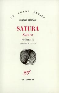 Eugenio Montale - Poésies - Tome 4, Satura : 1962-1970.
