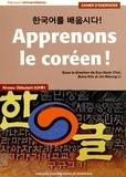 Eun-Sook Choi et Bona Kim - Apprenons le coréen ! Niveau débutant A2-B1 - Cahier d'exercices.