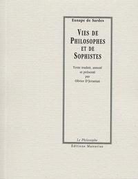 Eunape DE SARDES et Olivier D'Jeranian - Vies de Philosophes et de Sophistes.