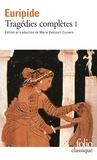 Euripide - Tragédies complètes - Tome 1.