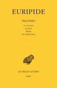 Deedr.fr Tragédies - Tome 1, Le cyclope, Alceste, Médée, Les Héraclides Image