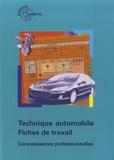 Europa Lehrmittel - Technique automobile - Fiches de travail - Connaissances professionnelles.