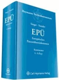 Europäisches Patentübereinkommen EPÜ.