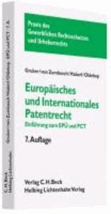 Europäisches und internationales Patentrecht - Einführung zum Europäischen Patentübereinkommen (EPÜ) und Patent Cooperation Treaty (PCT).