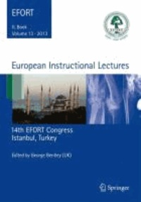 European Instructional Lectures - Volume 13, 2013, 14th EFORT Congress, Istanbul, Turkey.