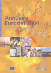 EUROSTAT - Annuaire Eurostat 2004 - Le guide statistique de l'Europe, données 1992-2002. 1 Cédérom