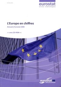 EUROSTAT - L'Europe en chiffres - Annuaire Eurostat 2008. 1 Cédérom