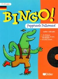 Eva Fauconneau et Catherine Barnoud - Allemand 7-11 ans. - Bingo, avec CD-Audio.