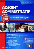 Eva Fontaine et Denis Laurent - Adjoint administratif catégorie C - Annales corrigées.