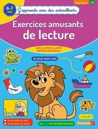Eva Galesloot et  ZNU - Exercices amusants de lecture 1re primaire CP 6-7 ans.