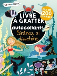 Eva Schindler - Sirènes et dauphins - Plus de 200 stickers.