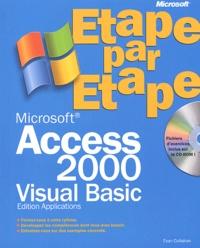 Access 2000 Visual Basic - Edition applications, avec CD-ROM.pdf