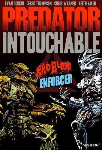 Evan Dorkin et Derek Thompson - Predator Intouchable - Badblood vs Enforcer.