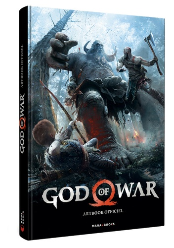 Evan Shamoon - God of War - Artbook officiel.