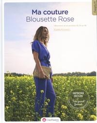 Evanthia Economou - Ma couture blousette rose - Vêtements et accessoires du 34 au 48.