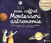 Eve Herrmann - Mon coffret Montessori astronomie - Avec 1 carte tournante du Ciel, 1 carnet de constellations.