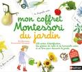 Eve Herrmann et Emmanuelle Tchoukriel - Mon coffret Montessori du jardin - 120 cartes d'identification, des graines bio de basilic et de courgettes, et un livre pour découvrir le jardin.