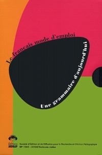 Eveline Charmeux et Michel Grandaty - Une grammaire d'aujourd'hui, Coffret de 3 volumes : Vol. 1, Répondre aux questions des enseignants, Vol. 2, Etudier le fonctionnement des textes, Vol. 3, Etudier le fonctionnement des phrases et des mots.