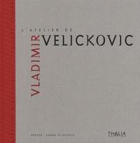 Evelyne Artaud et Zarko Vijatovic - L'atelier de Vladimir Velickovic.