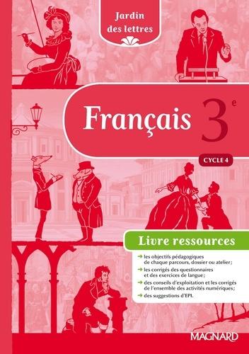 Francais 3e Cycle 4 Jardin Des Lettres Livre Du Professeur Grand Format
