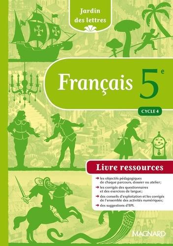 Francais 5e Cycle 4 Jardin Des Lettres Livre Ressources Grand Format