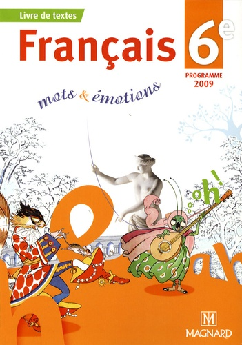 Francais 6e Mots Emotions Manuel Eleve Poche