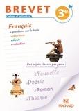Evelyne Ballanfat - Français Brevet 3e - Cahier d'activités.
