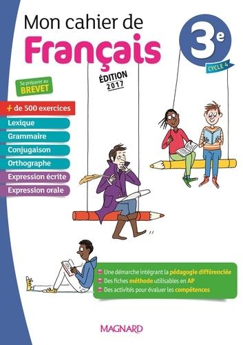 Mon Cahier De Francais 3e Grand Format
