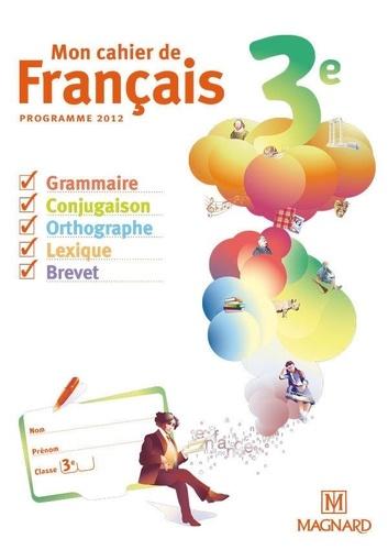 Mon Cahier De Francais 3e Cahier Eleve Poche
