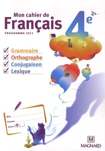 Mon Cahier De Francais 4e Cahier Eleve Poche
