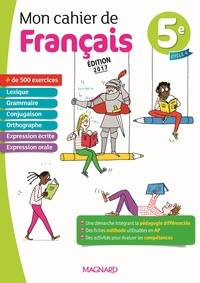 Evelyne Ballanfat - Mon cahier de français 5e.