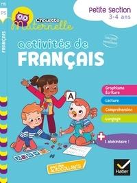 Evelyne Barge et Marco Overzee - Activités de français Maternelle Petite Section.