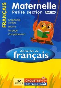 Activites De Francais Petite Section 3 4 Ans Graphisme