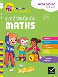 Evelyne Barge et Marco Overzee - Activités de maths Maternelle Petite Section.