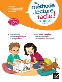 Evelyne Barge et Mathilde Perrioux - Ma méthode de lecture facile ! - CP-CE1-CE2.