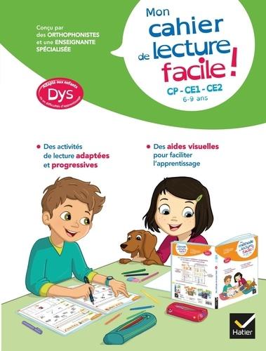 Evelyne Barge et Thomas Tessier - Mon cahier de lecture facile ! Dys.