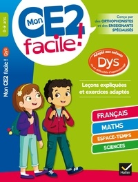 Evelyne Barge et Marco Overzee - Mon CE2 facile ! 8-9 ans.