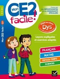 Téléchargez des livres epub gratuits pour Android Mon CE2 facile ! adapté aux enfants DYS et en difficultés d'apprentissage
