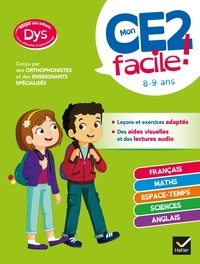 Evelyne Barge et Marco Overzee - Mon CE2 facile ! dys.