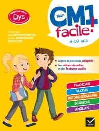 Evelyne Barge et Marco Overzee - Mon CM1 facile ! adapté aux enfants DYS ou en difficulté d'apprentissage - toutes les matières.