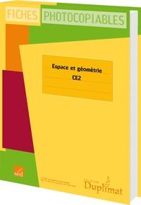 Evelyne Bergé - Espace et géométrie CE1 - Fiches photocopiables.